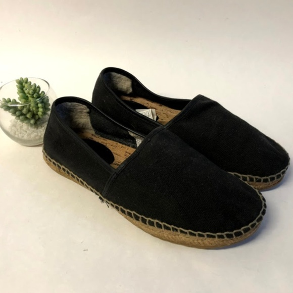 deb9dde8bd8 UGG Kas Espadrille Slip-On Shoes Leather Canvas 9
